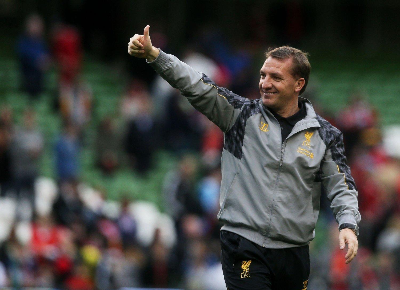 STYRKER: Brendan Rodgers forteller at klubben jobber med å forsterke stallen før kommende sesong.