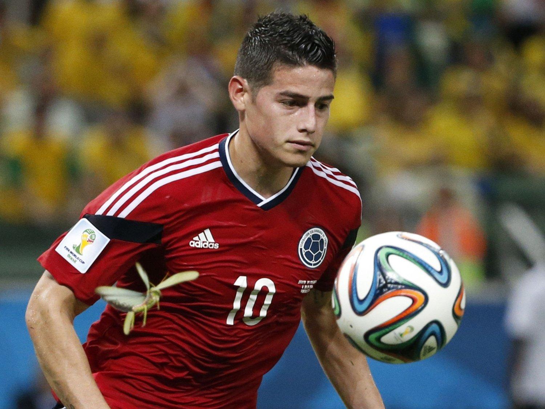 POPULÆR: Det er flere enn brasilianske knelere som vil ha en bit av James Rodríguez. Real Madrid ser ut til å sikre seg hele spilleren.