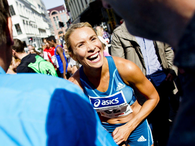 I FORM: Ingvill Måkestad Bovim løp sin raskeste 1500-meter hittil i år lørdag kveld.
