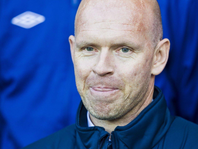 SJOKKTAP: Henning Berg og Legia Warszawa serieåpnet med 0-1-tap lørdag.