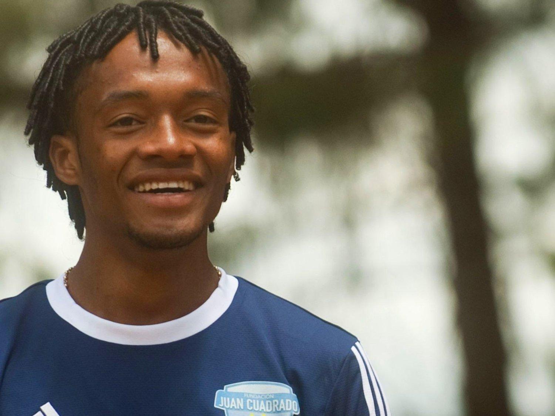 MED GRUNN TIL Å SMILE: Juan Cuadrado kan trolig velge sin neste arbeidsgiver fra øverste hylle i Fotball-Europa.