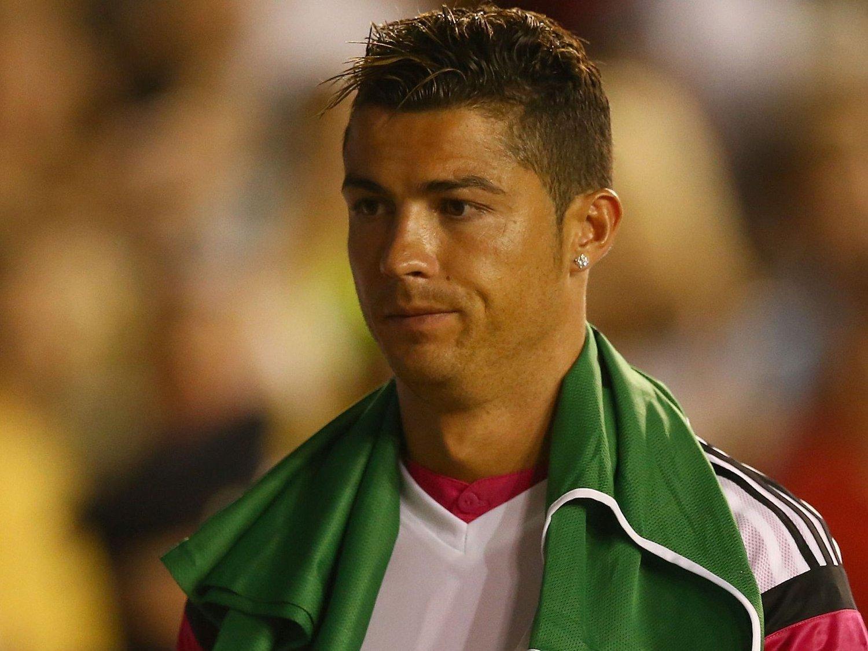 TAKKNEMLIG: Cristiano Ronaldo har ikke glemt «oppdragelsen» han fikk i England.
