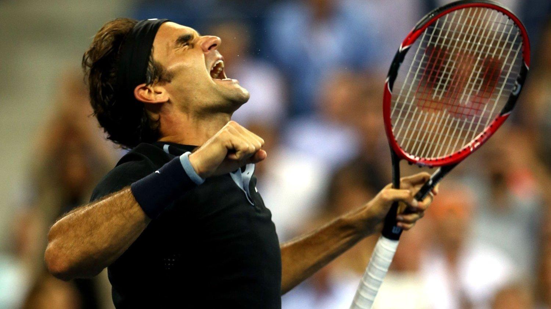 VANT: Roger Federer er klar for semifinalen av US Open.