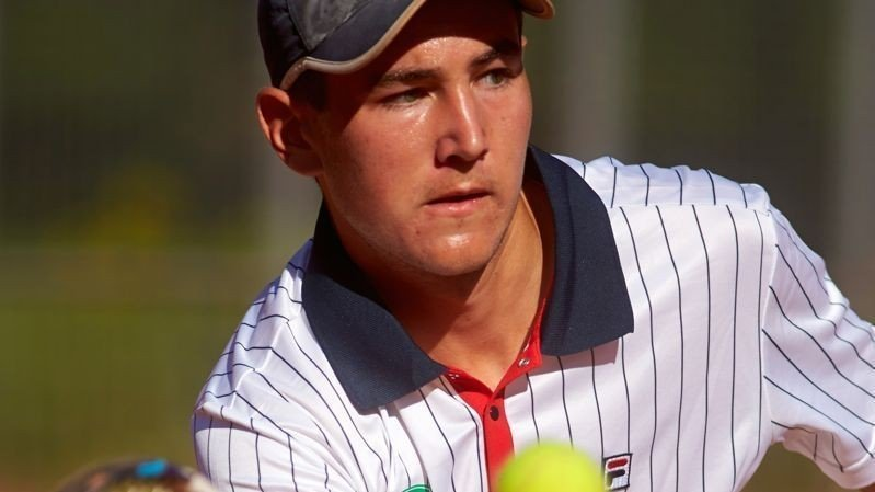NORSK SENSASJON: Viktor Durasovic spiller sent fredag kveld doublesemifinale i tennisturneringen US Open.