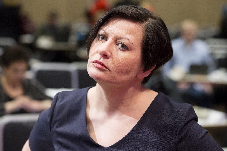 FORTSETTER IKKE: Helga Pedersen trer til våren ut av ledelsen i Arbeiderpartiet.
