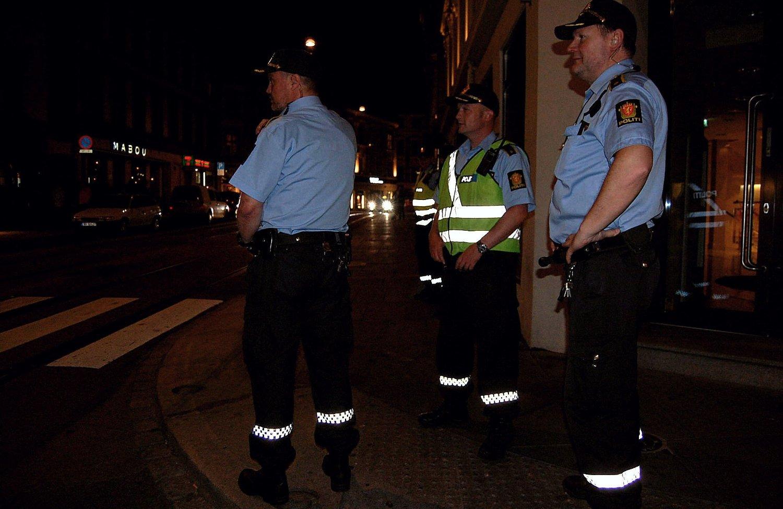 Etter slåssingen for to uker siden har politiet vært mange og synlige på Majorstuen. Tilstedeværelsen er forebyggende.