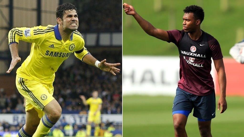 SKADET: Diego Costa og Daniel Sturridge har begge meldt forfall til de kommende landskampene.