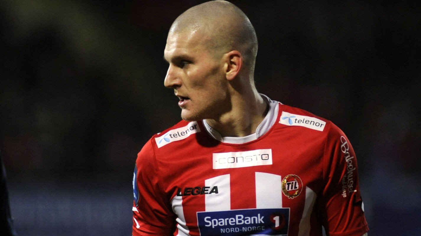 UTVIST: Zdnek Ondrasek ble utvist da Tromsø tapte mot Mjøndalen.