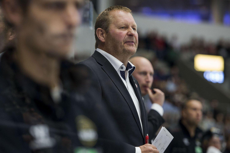 SKUFFET: Petter Thoresen innrømmer at han var fryktelig skuffet over lørdagens 3-2-tap i Champions Hockey League.