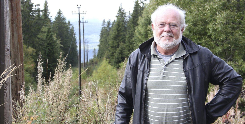 SKUFFET: Carl Lindblad er skuffet over sine kolleger i bydelsutvalget som ikke motsetter seg det store naturinngrepet i området på nedsiden av Soria Moria. Foto: Vidar Bakken