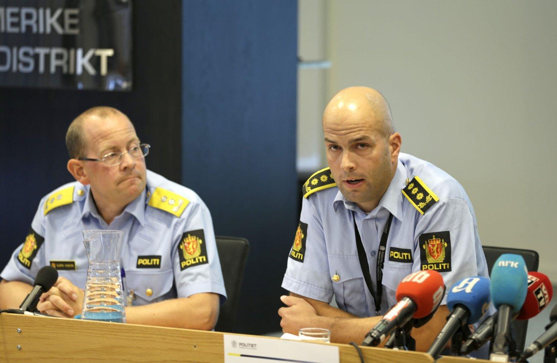 - OMFATTENDE: Politimester Bjørn Vandvik og politiinspektør Åsmund Yli ved Romerike politidistrikt har fått i oppdrag å holde i trådene i etterforskningen av LIME-kjeden. Foto: Scanpix