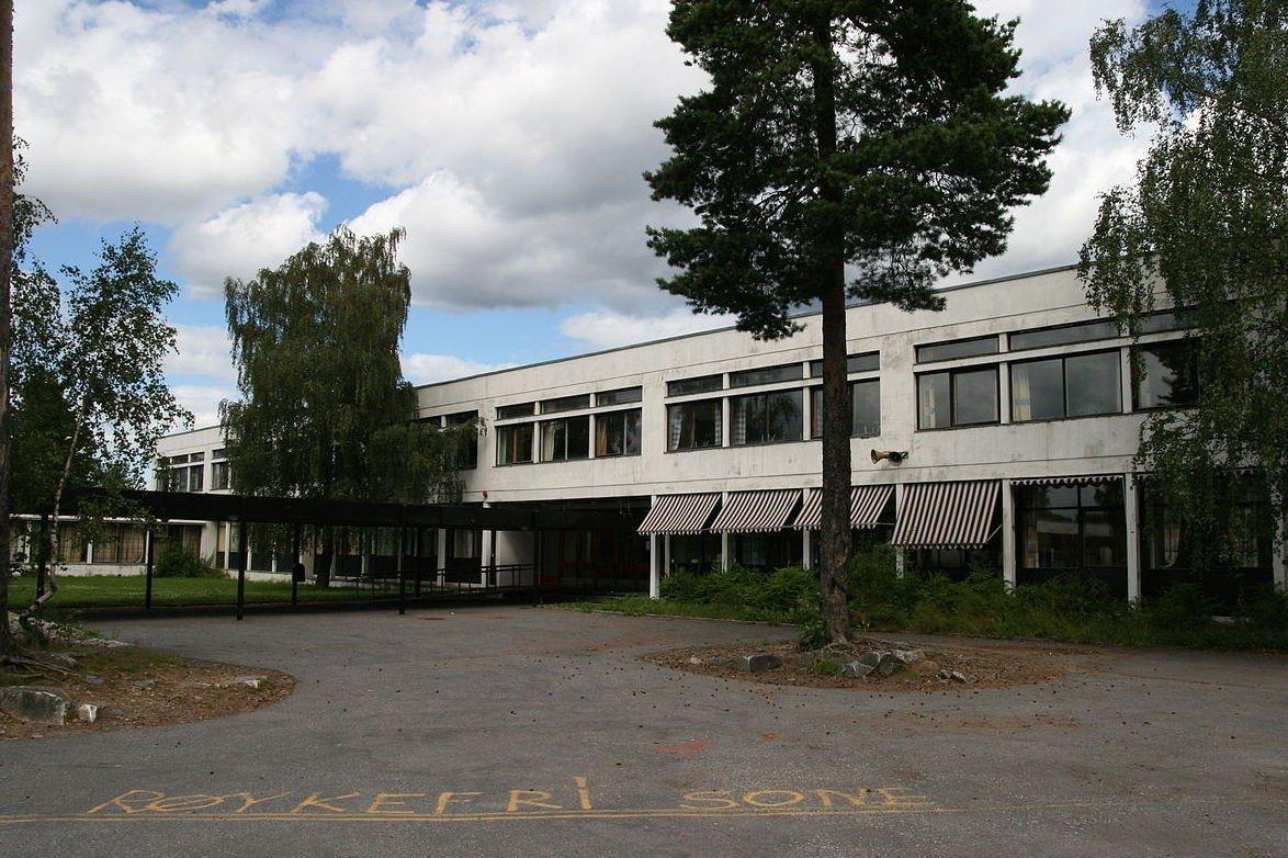 SA DE JOBBET HER: Flere vitner fra Lambertseter skole avviste at kvinnene hadde jobbet her, slik de hevdet.