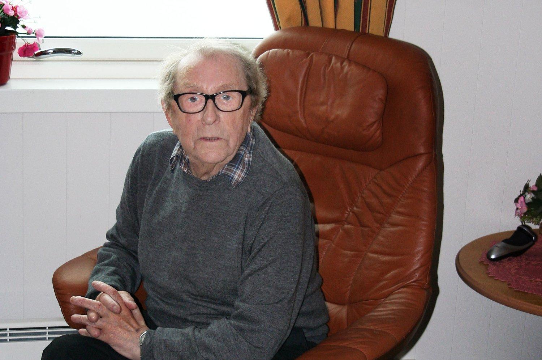 PENGEGAVE SOM TAKK: Harald Ingvart Olaf Lorentzen fra Akkarfjord ble hjerteoperert ved Universitetssykehuset Nord-Norge (UNN) i 2008. Nå har han donert en gave på tre millioner kroner til sykehuset.