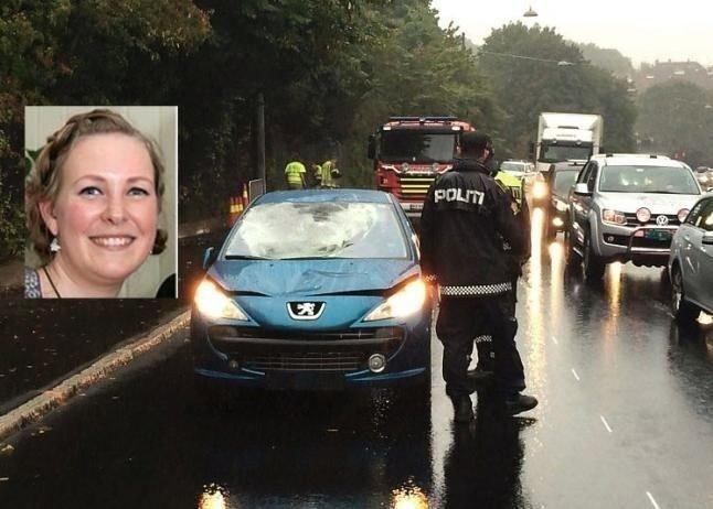 Charlotte Bøhler Wilhelmsen døde etter å ha blitt påkjørt av en bil mens hun gikk på fortauet.