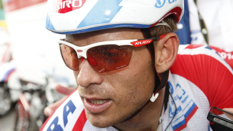 STIVNET: Alexander Kristoff stivnet da spurten gikk i Grand Prix Cycliste de Quebec.