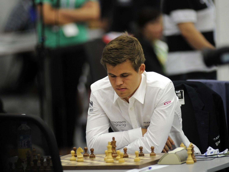 VM: Magnus Carlsen forbereder seg til VM.