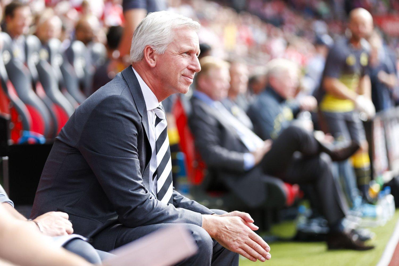 FØLER SEG TRYGT: Newcastle-manager Alan Pardew.