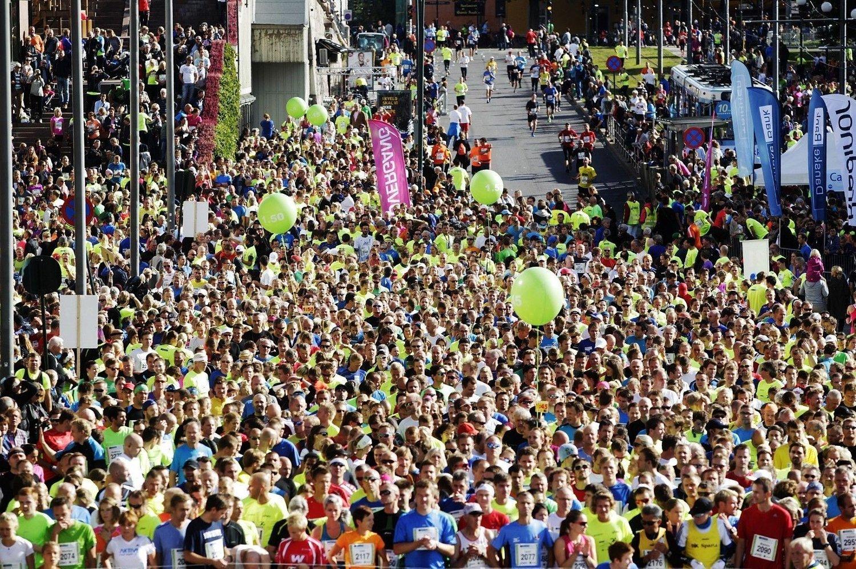 Det er Oslo Maraton i helgen og rekordmange har meldt seg på.
