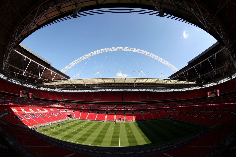 FINALE: EM-finalen i 2020 spilles på Wembley.