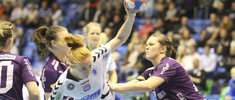 HADDE IKKE DAGEN: Nina Stokland har vært veldig god så langt i sesongen, men mot Glassverket kom nedturen med null scoringer på sju skuddforsøk.