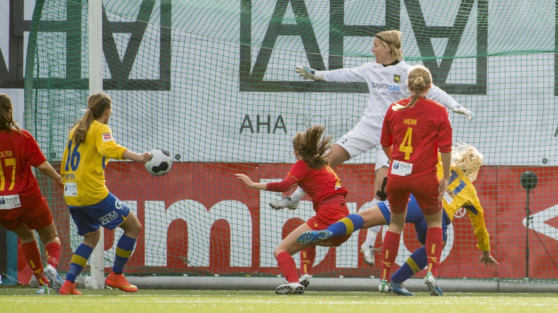 FINALEKLARE: Trondheims-Ørn er klare for NM-finalen for kvinner.