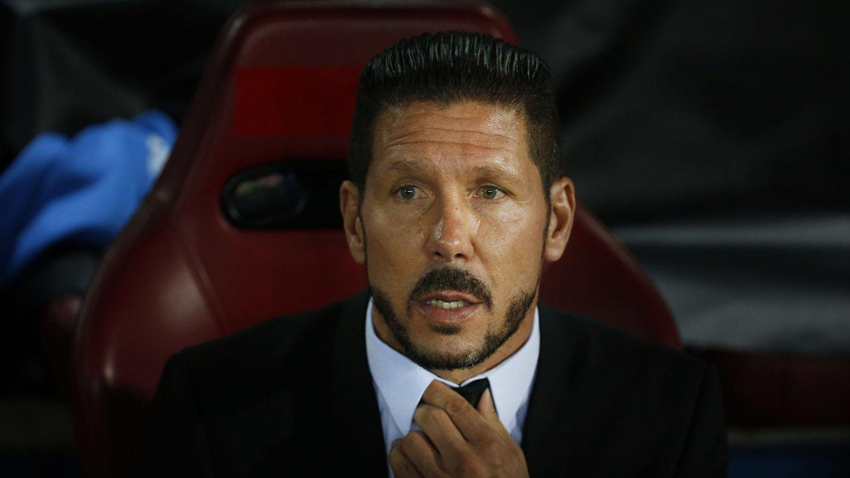 IMPONERT: Diego Simeone lot seg imponere av Juventus.