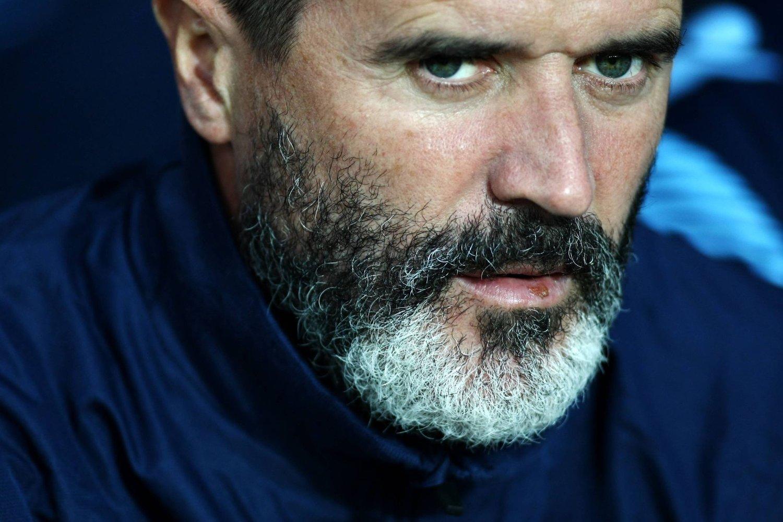 Roy Keane jobber i dag som assistent for Aston Villa-manager Paul Lambert.