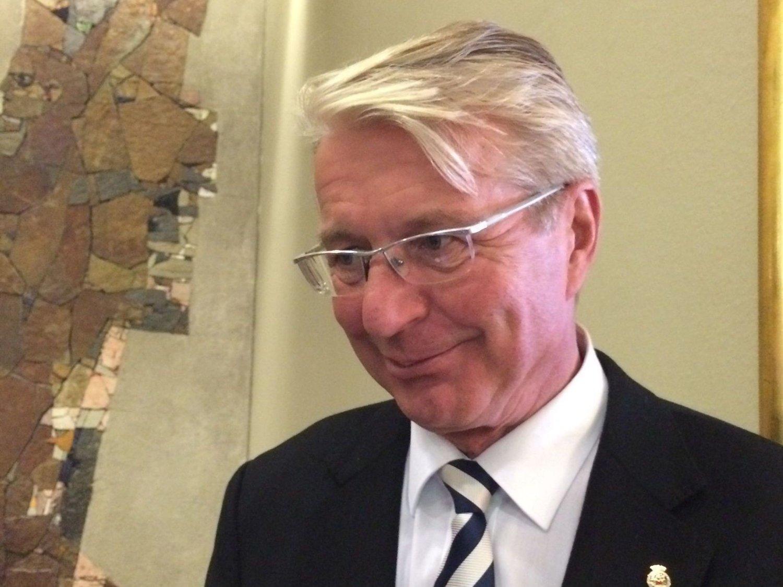 FÅR IKKE OL: Oslo-ordfører Fabian Stang får ikke OL i byen sin i 2022.