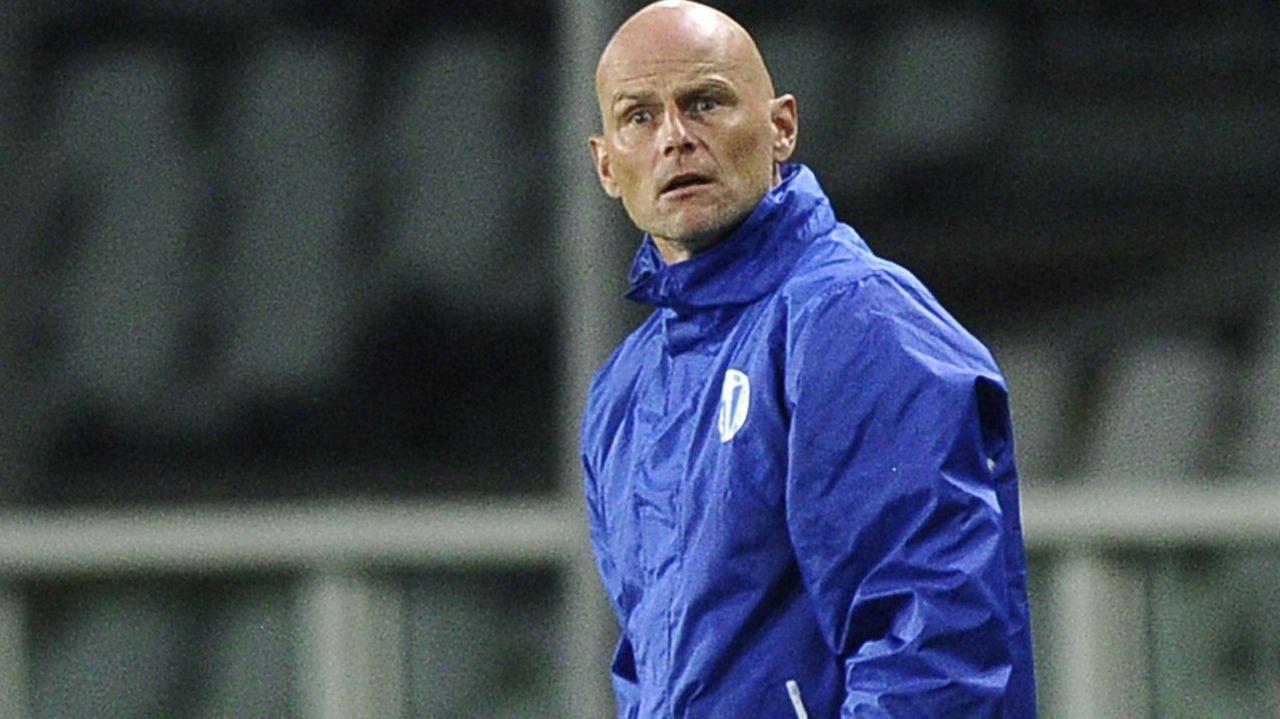 TAPTE: Ståle Solbakken og FC København tapte 1-0 etter at Fabio Quagliarella scoret på straffe på overtid.