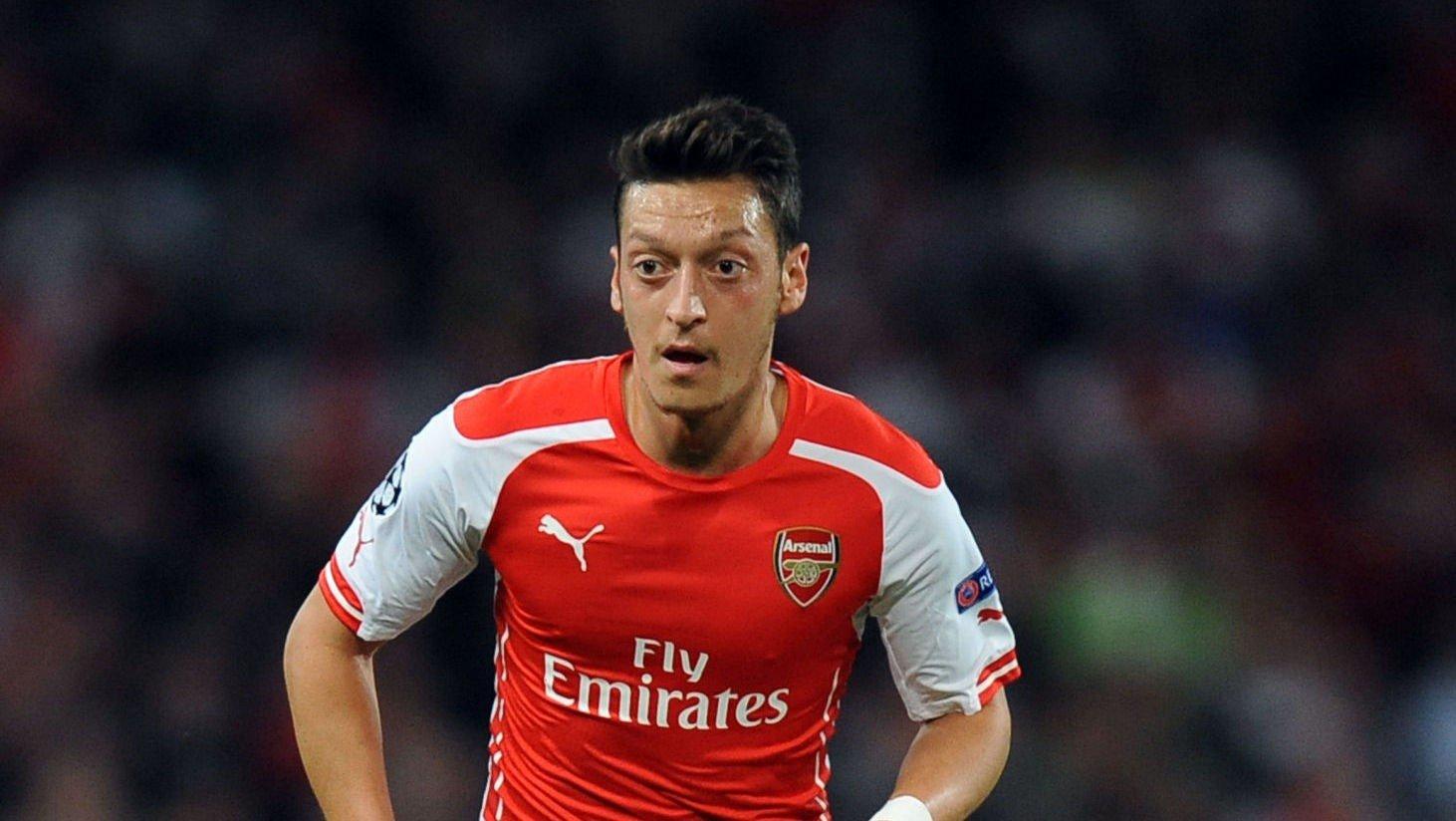 KOBLES TIL CITY: Mesut Özil.