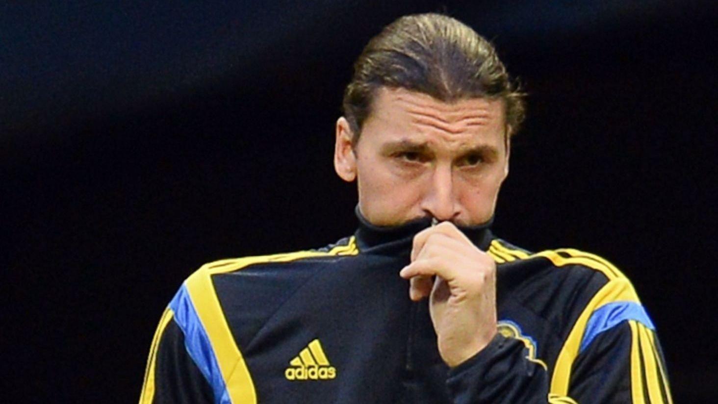 SKADETRØBBEL: Både Sverige og PSG vil lide dersom Zlatan Ibrahimovic settes ut av spill i lang tid.