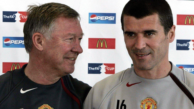 IKKE PERLEVENNER: Men Roy Keane har også latt seg imponere av Alex Ferguson.