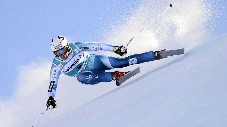 SKADET: Adrian Smiseth Sejersted pådro seg en korsbåndskade under alpintrening i Østerrike tirsdag.