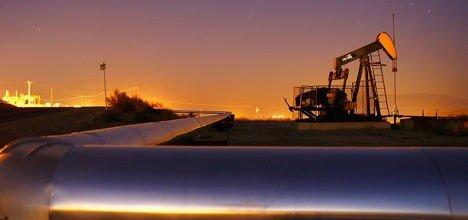 Oljeprisen svekker seg kraftig i USA.