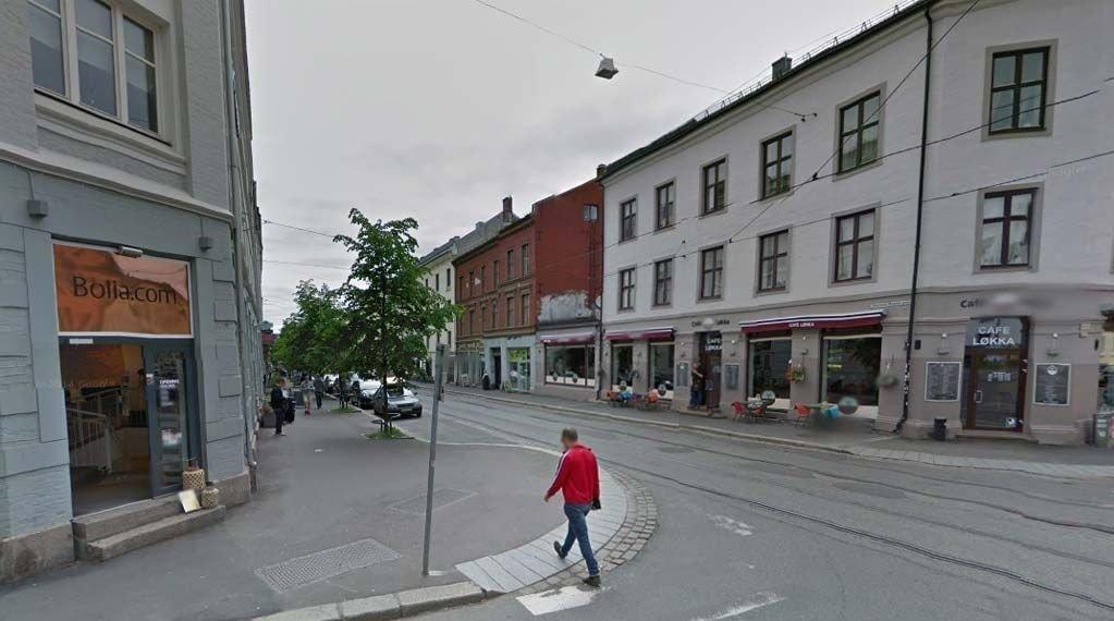 PÅ LØKKA: Kvinnen møtte mannen på Grünerløkka i Oslo og gikk senere med ham hjem. Der skjedde hendelsen som kvinnen mener var voldtekt, men som et lydbånd forteller at var noe annet.