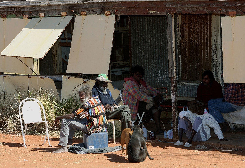 Den australske urbefolkningen sliter med et stadig høyere antall selvmord blant sine egne. Bildet er tatt i et aboriginsk lokalsamfunn i det nordlig Australia (Illustrasjonsbilde).