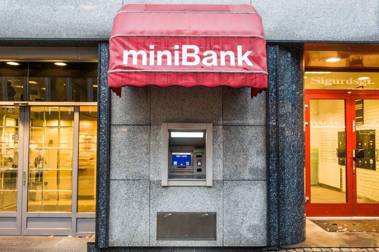 Minibanken i Sigurds gate.