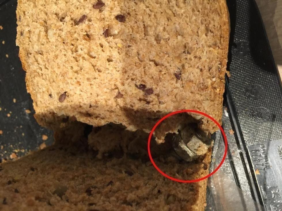 GANSKE GROVT: Dette brødet var fylt med mer enn kli og rug.