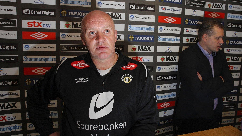 TAR OVER: Harald Aabrekk tar over trenerjobben i Aalesund etter Jan Jönsson.