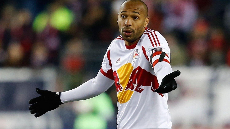 NYE EVENTYR: Thierry Henry er ferdig i New York Red Bulls.