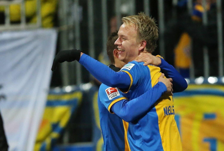 SCORET: Håvard Nielsen scoret kampen eneste mål.