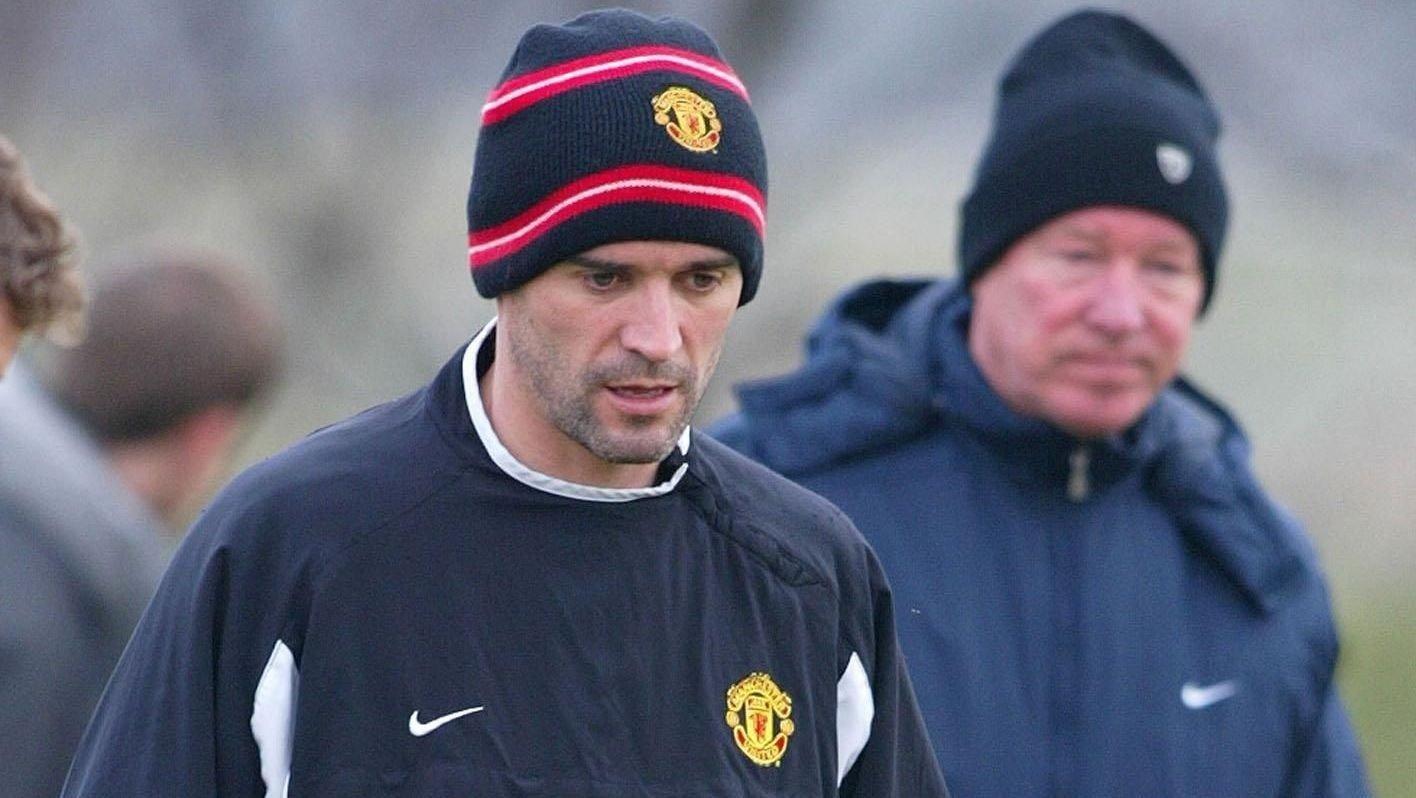 UVENNER: Roy Keane (venstre) og Alex Ferguson har ikke lenger et hjertelig forhold.