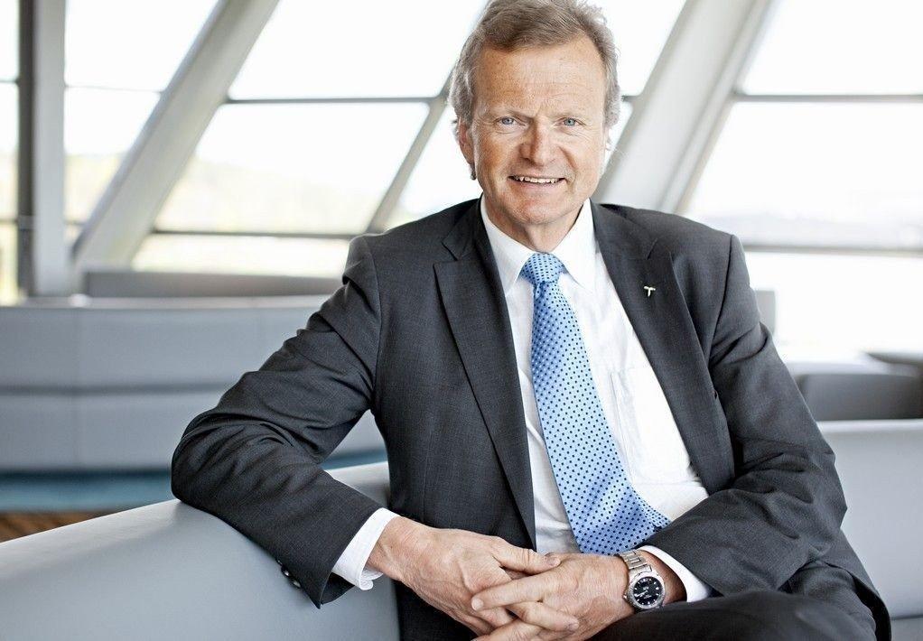 Administrerende direktør i Telenor Jon Fredrik Baksaas leverer knalltall for tredje kvartal 2014.