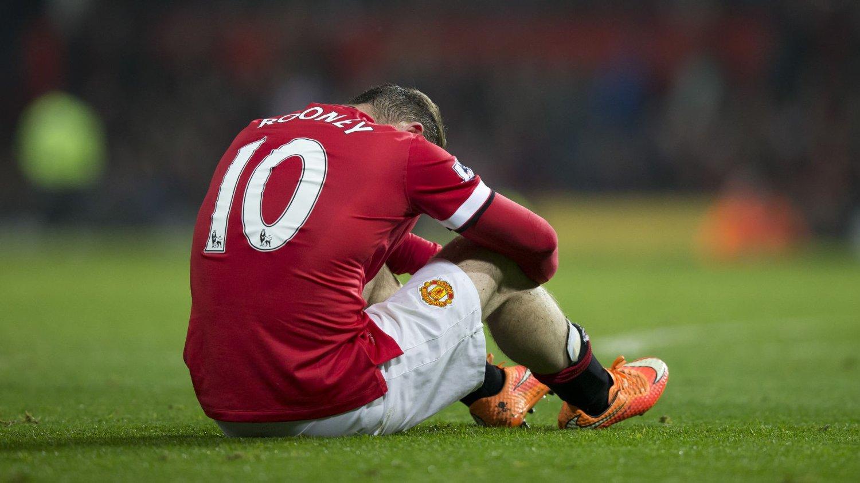SKADET: Manchester United venter på svar på hvor alvorlig Wayne Rooney skade er.