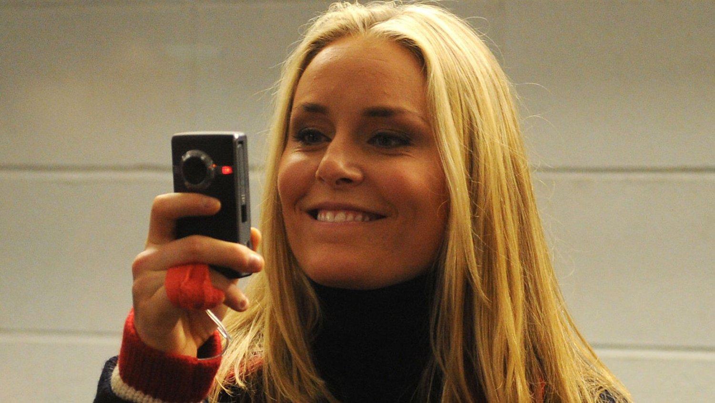 TILBAKE: Lindsay Vonn er tilbake i alpinsirkuset etter langtidsskade.