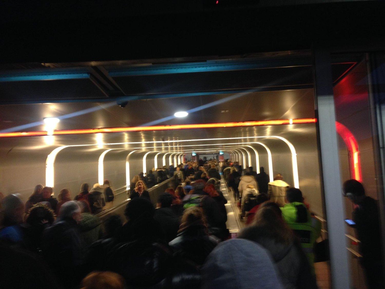 Signalfeil skaper problemer på Oslo S onsdag ettermiddag.