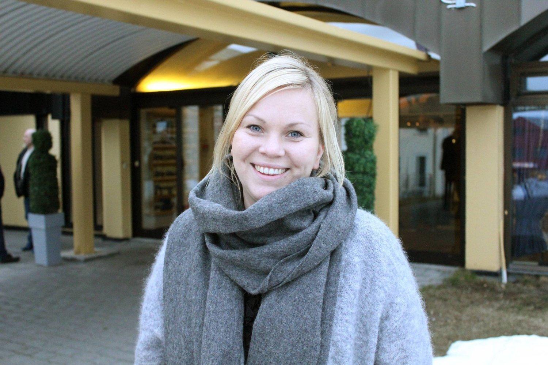 Rebekka Ingilæ Anderssen, daglig leder Norway King Crab, er glad for større totalkvote på kongekrabbe.