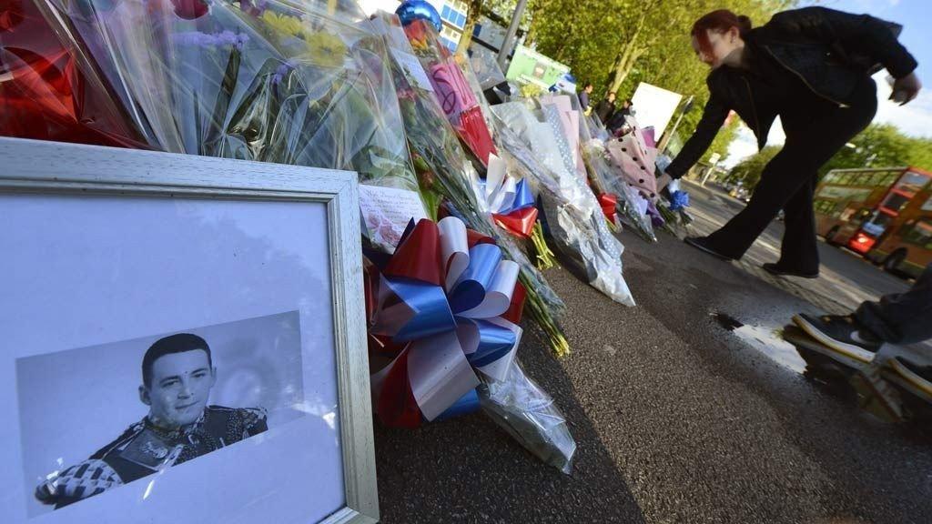 DREPT: Soldaten Lee Rigby ble brutalt drept i London i mai 2013.