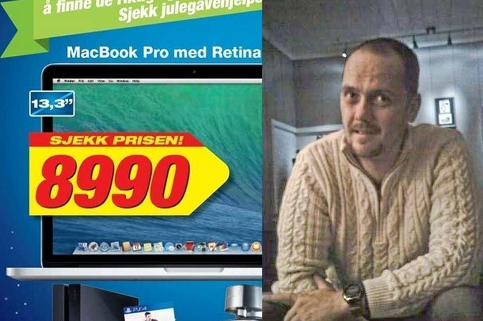 SKAPT DEBATT: Frode Lyngstads utbrudd etter denne annonsen har engasjert tusenvis av nordmenn.