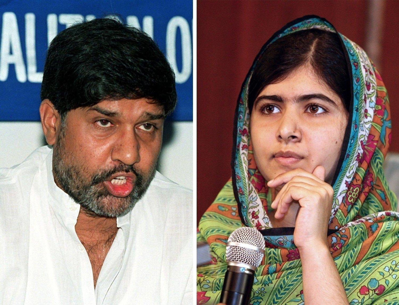 Pakistanske Malala Yousafzai (17) og indiske Kailash Satyarthi (60) får Nobels fredspris for 2014 for sin kamp mot undertrykkelse og for barns rett til utdanning.